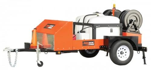 Высоконапорная каналопромывочная машина JM-2512 (бензин)