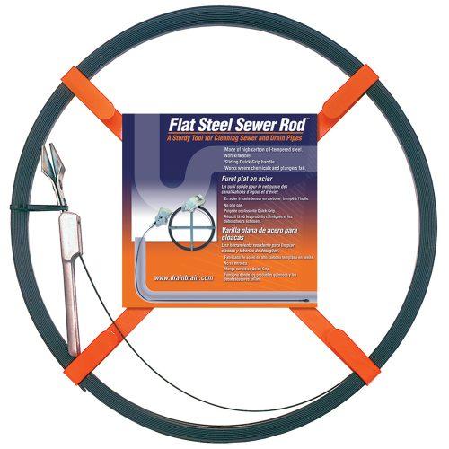 Ленты для очистки канализационных труб диаметром 15 — 150 мм