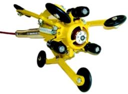 Универсальный центратор на роликах для труб 150-400мм