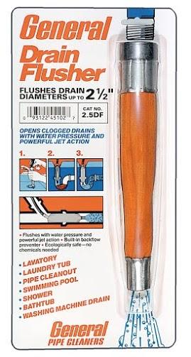 Устройство для промывания канализационных труб «Drain Flusher»