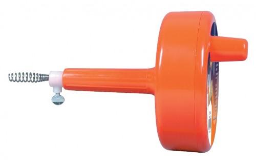 Пластмассовый очиститель труб «Spin-Thru»